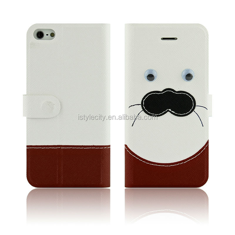 Animal Design Flip Wallet Leather Case For Samsung Galaxy S3