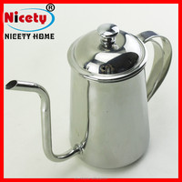 high quality antique Stainless Steel coffee tea pot
