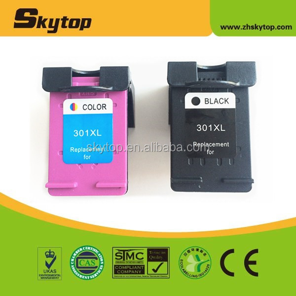 Skytop Remanufactured ink cartridge for HP301 ink for HP 301 XL