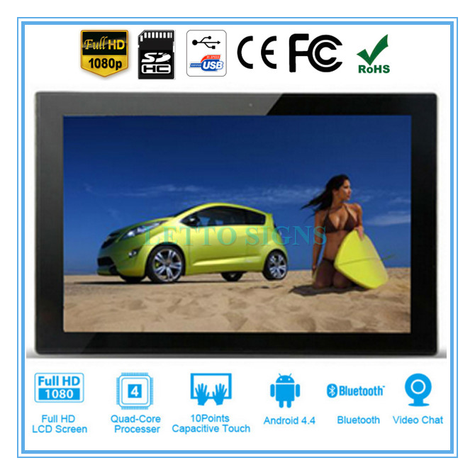 Custom lcd player full hd media player recorder