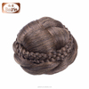 Factory hot selling fashion natural color hair wigs human hair bun