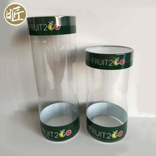 Transparent Clear Plastic Test Tube Packaging with Lid