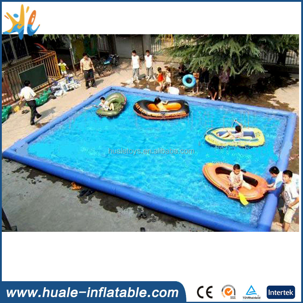 2016 wholesale square inflatable swimming pool for sale