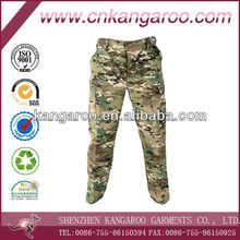 Multi pockets Multicam army uniform combat cargo pants