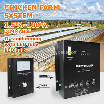 Poultry Farm traic dimmable 0-10v led dimmer switch, led touch dimmer switch, timer switch