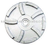 Diamond grinding cup wheel for marble and granite surface,corners,deges and angles