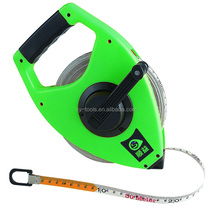 bulk creative long distance green durable fiber heavy duty yard land measuring tape