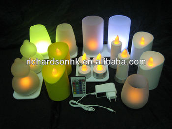 Rechargeable LED Candles Light / Tea Light / Decoration Light