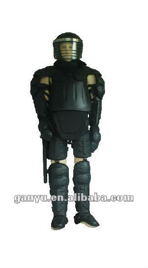 Anti-Riot Law Enforcement Anti Riot gear Riot control suit with helmet