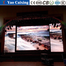 Stage back wall wall, scrolling video playback, color LED electronic full-color display