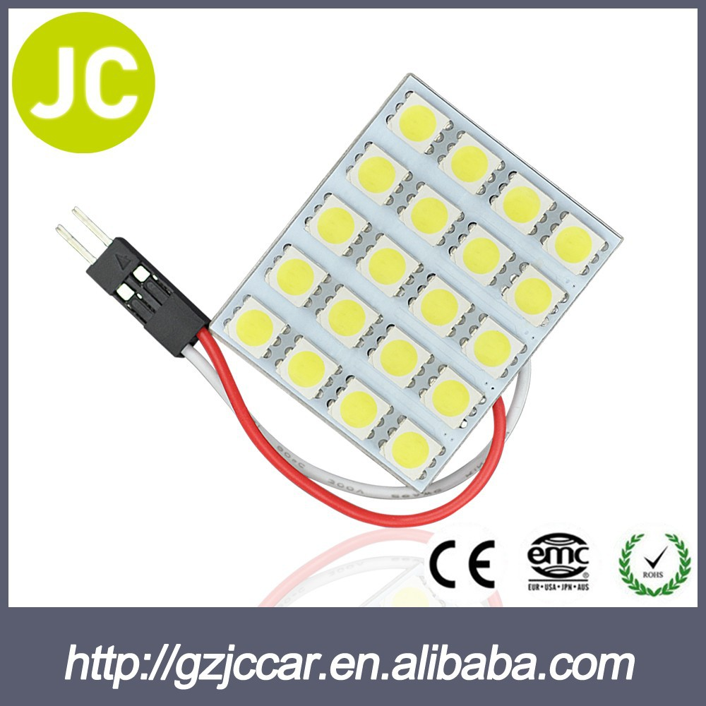 made in China factory made car led light dome light t10 connector 12v