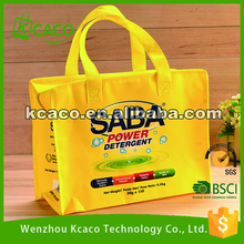 Custom Laminated Promotional Non Woven Packaging Bags with Printing Picture