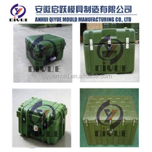 Custom Roto molded plastic military cases