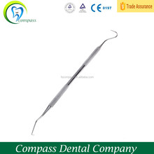 Dental stainless steel instruments Tweezers or probe or Curettage device Scaler