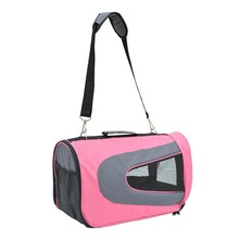 Soft Sided Travel Pet Carrier Tote Bag - Pink
