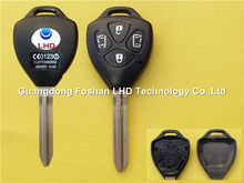 Uncut 4 buttons Toyota Camry replacement blank car key