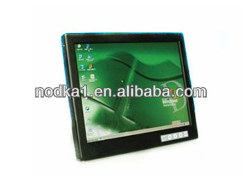 "15""TFT LCD high brightness monitor,support DVI,VGA signal input"