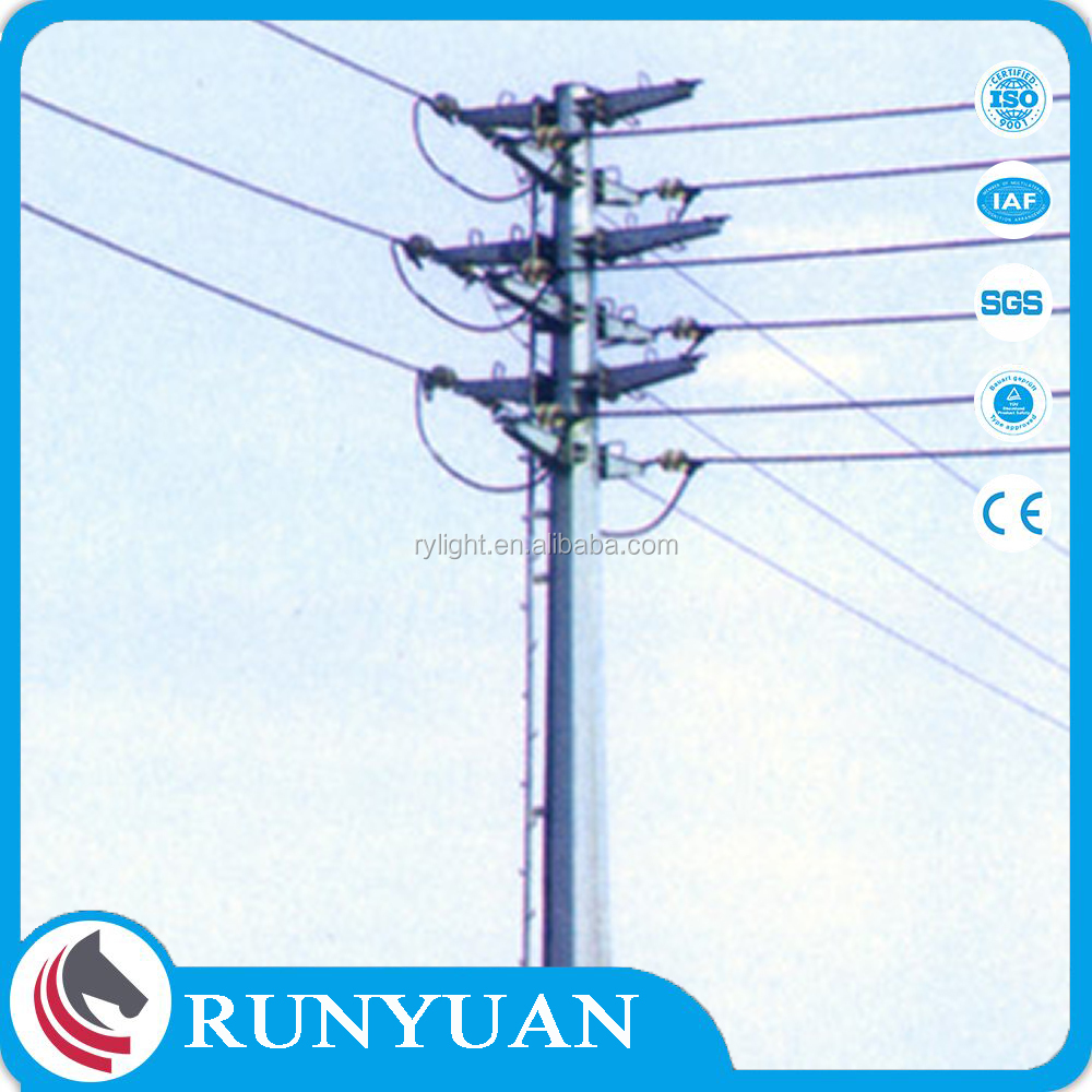 Factory Customized 110kv Transmission Line Steel Tower with Hot-dip Galvanization