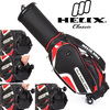 Helix designed wheeled Mens golf club sets use golf bag / waterproof golf bag with wheels /leather golf scorecard holder