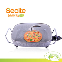 Secite 38.5x31.5x8cm Large Mulfunctional Aluminum Electric hot Pan