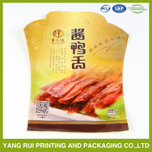 china supplier plastic bag food food 400g cooked bag