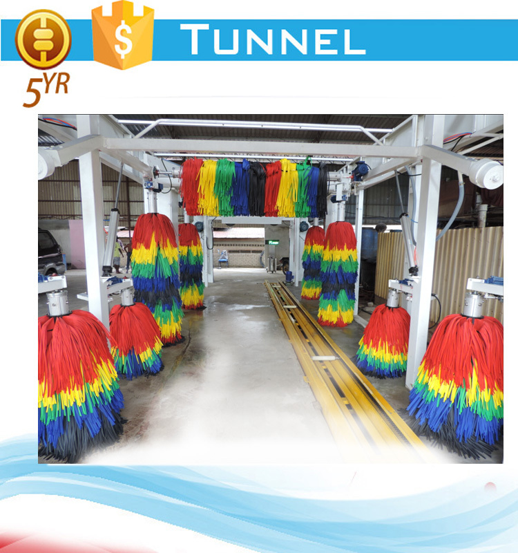 Japan Omron PLC tunnel type automatic car wash machine