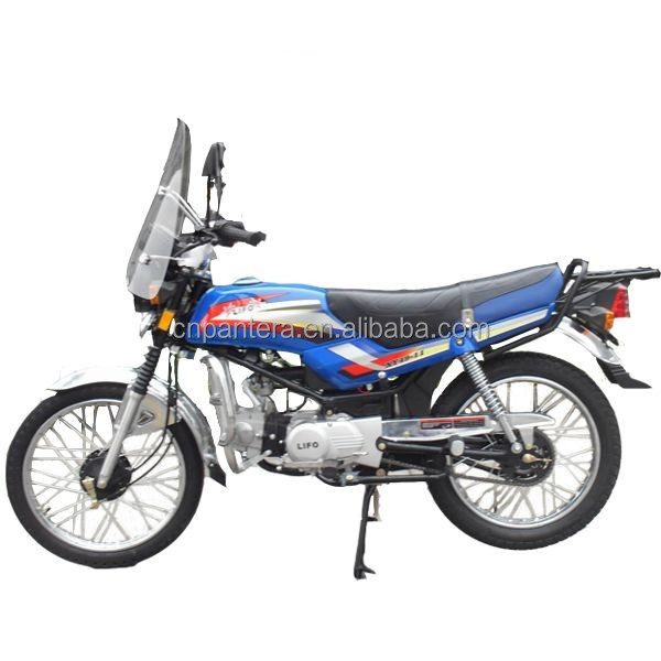 PT125-B Optional Blue Disc Brake 124cc Motorcycle