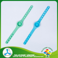 Custom silicone rubber wrist watch strap silicone watch band