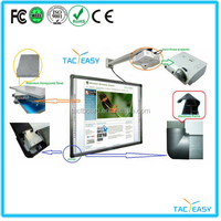 Hot sale Infrared 10 Touch 86 inch Interactive whiteboard/smart board/whiteboard with wheels, OEM & ODM welcome