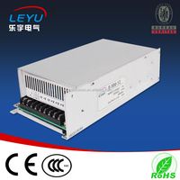 led power supply switch 600W 48v 12.5A ac dc converter Input 110v 220V S-600w 48v variable dc voltage regulator S-600-48