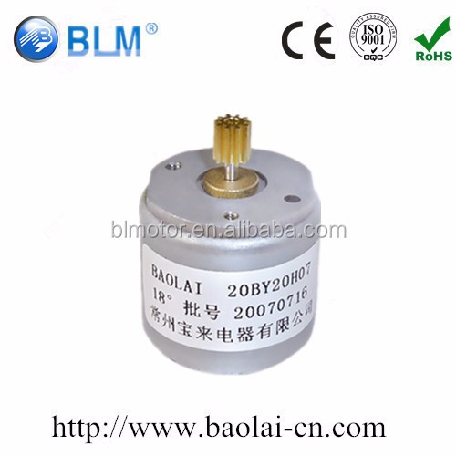 super mini size pm motor used for 3D printer magnetic stepping motor for medical equipments