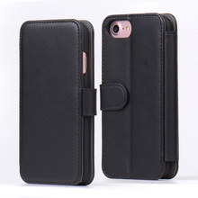 2017 New Arrival Design Pu Leather Flip Stand Wallet Cover Case for iphone 7
