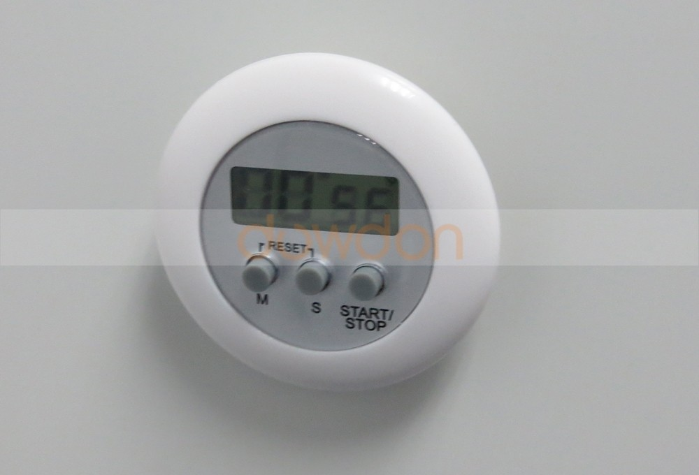 Wholesale Colorful Digital Electronic Magnetic Kitchen Round Shape Timer