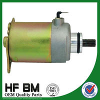 Motorcycle starting motor GY6 125cc starter motor factory directly sell with best price !