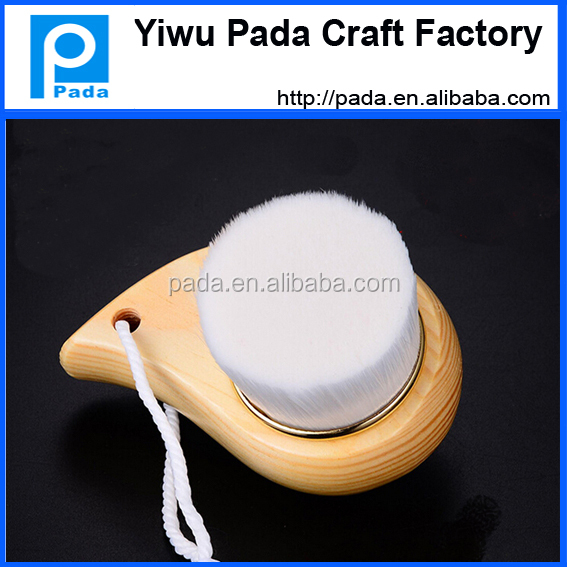 wooden cosmetics brush/makeup brush/face washing brush