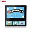 DDW most popular wifi bus lcd advertising player display digital signage