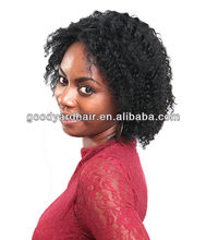 Wholesale brazilian human hair short hair wig