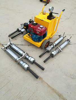 Taigao manual hydraulic stone rock splitter with best price