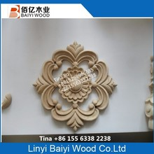 wood rosettes for furniture accessories