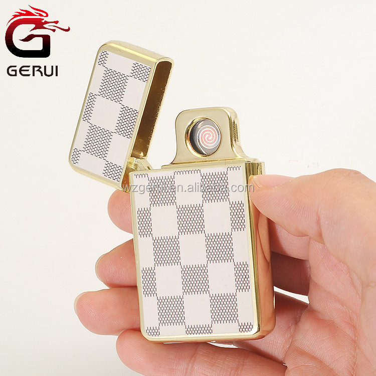 Personalized design easy to use flameless cigarette lighters