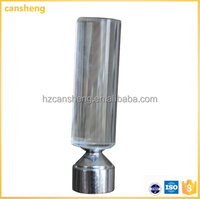Cansheng professional factory cheap and good crystal finial curtain rod