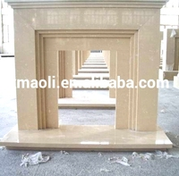 Artificial marble Engineered marble cultured Marble Fireplace
