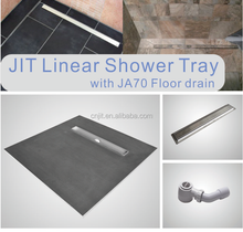 Lightweight Wet-Room CE Bathroom linear drain Shower Tray Base