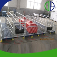 Factory Price Pig Equipment Farrowing Stall For Pig