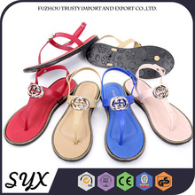 summer Red Woman logo Pvc New Collect Of Sandal shoe