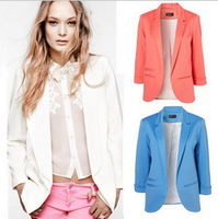 W10716G blazer women 2015 ladies blazer designs