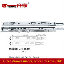 drawing roller drawer slider runner heavy duty furniture hardware