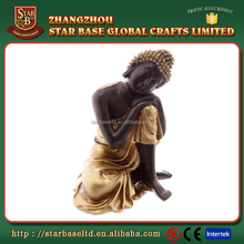 Factory Custom made best home decoration gift polyresin resin buddha head