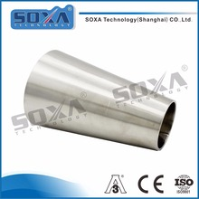 Stainless steel sanitary concentric pipe fittings reducer
