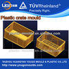 Plastic crate mold design from China turnover crate mould manufacturer perfect crate box mould maker